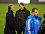 Elie Baup félicite Didier Deschamps