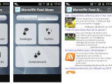 Application android sur l'OM