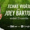 Tchat avec Joey Barton sur OM.net