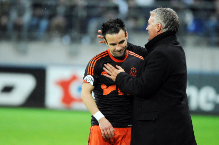 Mathieu VALBUENA et Didier DESCHAMPS